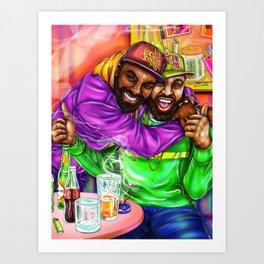 D + M Art Print