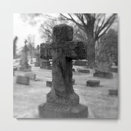 Cross to Bear Metal Print