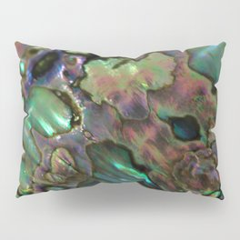 Oil Slick Abalone Mother Of Pearl Pillow Sham