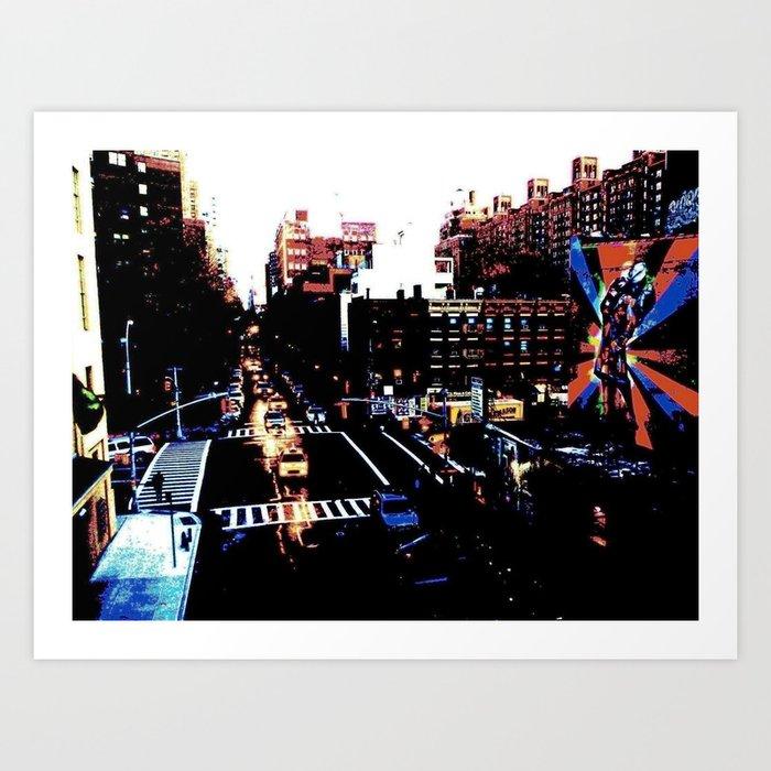 25th St. (Color) Art Print