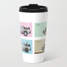 Back to the Future - Delorean x 4 Travel Mug