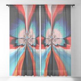 Legend of the Fleur-de-lis Sheer Curtain