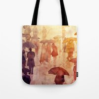 takmaj Tote Bags featuring Summer day by takmaj