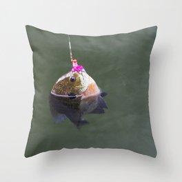 Sunfish Throw Pillow