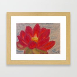 Out of the Muck Comes Beauty Framed Art Print