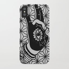 Prithvi Mudra iPhone Case