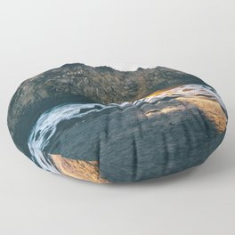 Pfeiffer Beach Floor Pillow