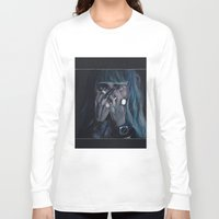 grimes Long Sleeve T-shirts featuring Grimes by annelise johnson