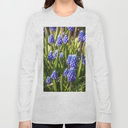 Grape hyacinths muscari Long Sleeve T-shirt