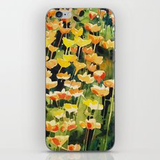 California Popies iPhone & iPod Skin