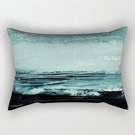 abstract minimalist landscape 4 Rectangular Pillow