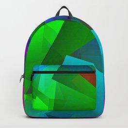 The light, dark wintertime ... Backpack