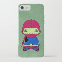 conan iPhone & iPod Cases featuring A Boy - Trap-Jaw by Christophe Chiozzi