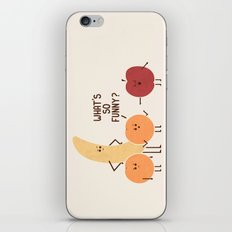 Silly Apple iPhone Skin