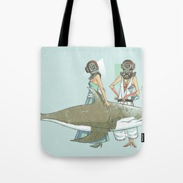 In Oceanic Fashion Tote Bag