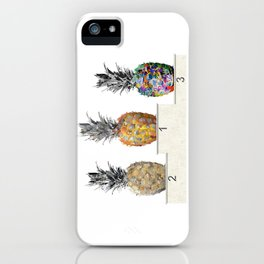 Top Pineapple 01 iPhone Case