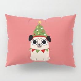 It's Christmas for Pug's Sake Pillow Sham