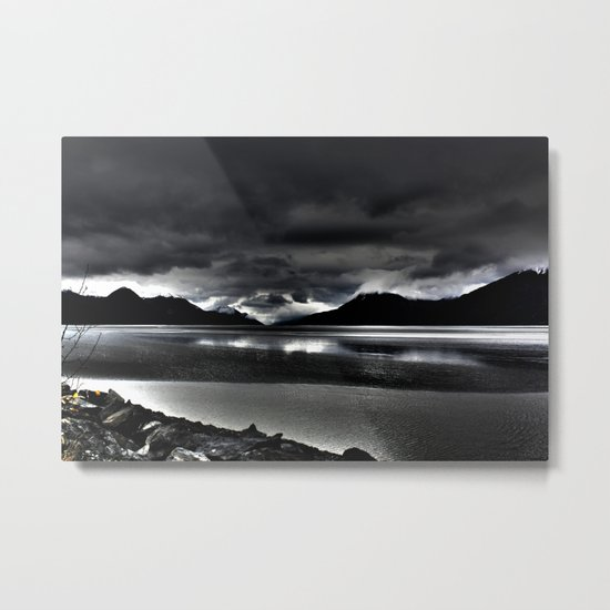 Turnagain Arm (Alaska) Metal Print