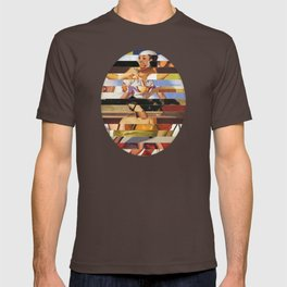 Glitch Pin-Up Redux: Heather T-shirt