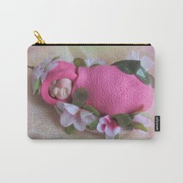 BABIES Are Such A Nice Way to Start People, Clay Baby, Quote by Don Herold Carry-All Pouch