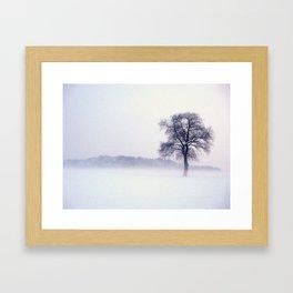 Winterzeit Framed Art Print
