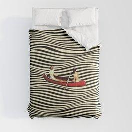 Illusionary Boat Ride Comforters
