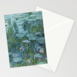 Water Lilies 2 Stationery Cards