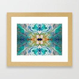 Fragmented 82 Framed Art Print