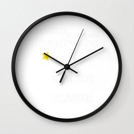 Jealous Boyfriend Syndrome Wall Clock