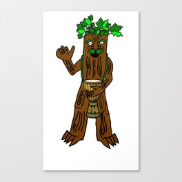 Ent With Drum Canvas Print