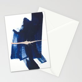 brush strokes 4 Stationery Cards
