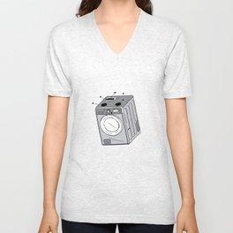Washing machine 1 Unisex V-Neck