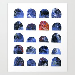 Pattern Play 4 Art Print