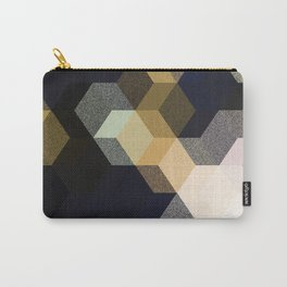 CUBE 1 GOLD & BLACK Carry-All Pouch