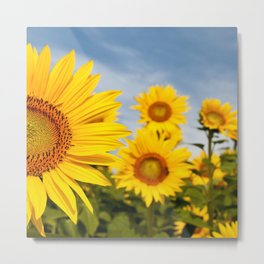 Right In Front Of You Metal Print