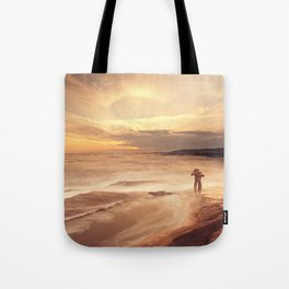 Inuksuk Seascape Tote Bag