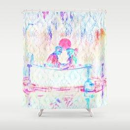 Kiss the Girl Shower Curtain