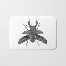 Stag Beetle Bath Mat