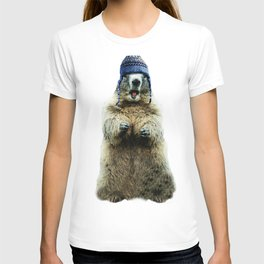Wooly Marmot by Crow Creek Coolture T-shirt