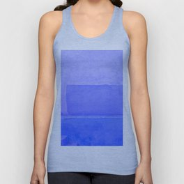Blue City of Chefchaouen in Morocco Unisex Tank Top
