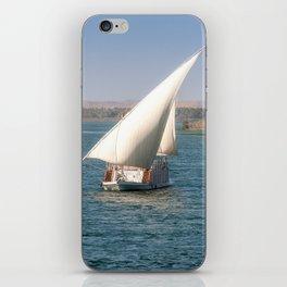 Nile Cruising iPhone Skin