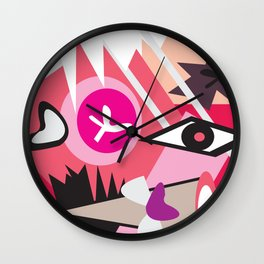 Eye of the Wall Clock