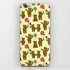Happy Teddies  iPhone & iPod Skin
