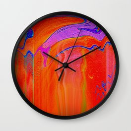 Trippy Painting Wall Clock