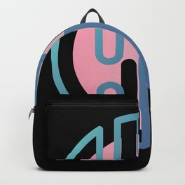 GEOMETRIC SEMICIRCLE GRADIENT Backpack