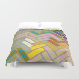 Fill In The Blank Colors Duvet Cover