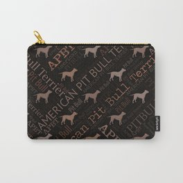 American Pit Bull Terrier Carry-All Pouch