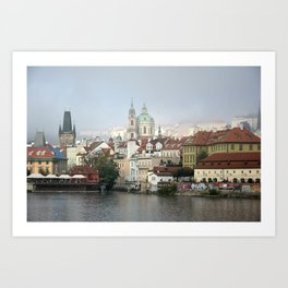 Skyline, Prague. Art Print