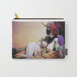 Au Seuil De Ma Mort, S'Ouvrit L'Oeil Du Minotaure Carry-All Pouch