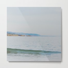 Distant Coast Metal Print
